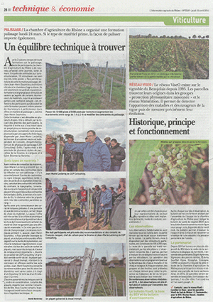 photo article info Rhône