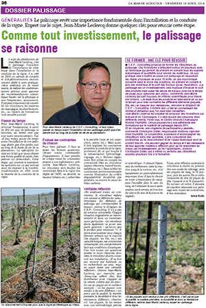 photo de l'article la Marne agricole